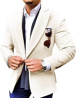 Amazon.com: Men's Suit Separates - Ivory / Suit Separates / Suits & Sport  Coats: Clothing, Shoes & Jewelry
