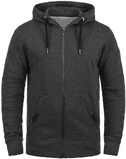 Alalaso Men's Lightweight Sweatshirt Zip Up Fleece Lined Hoodie with Split Pocket