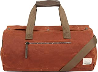 Lyle & Scott Over Night Duffle Bag One Size Tobacco