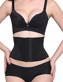 Lover-Beauty Women's Short Torso Waist Trainer Cincher Tummy Slimmer Body Shapewear Girdle