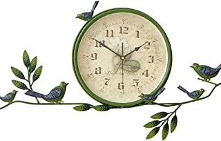 Reloj De Pared De Números Personalidad del reloj de pared creativa rural reloj de pared del reloj decorativo del hogar de ...