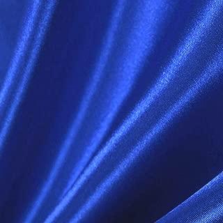 Royal Blue Satin Fabric 60