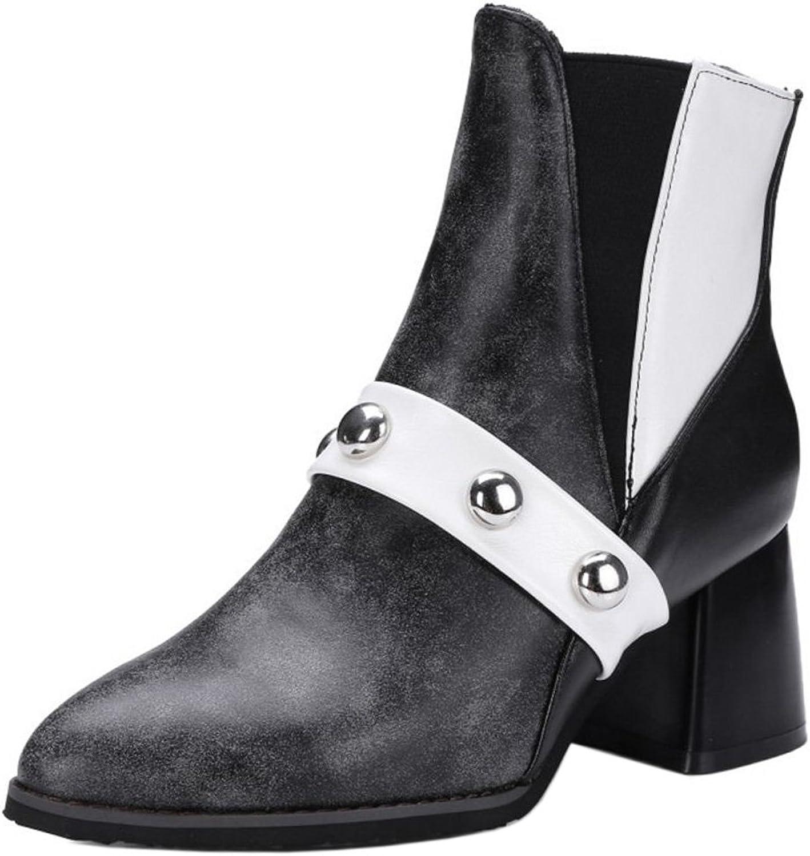 KemeKiss Women Fashion Extra Size Winter Chelsea Boots