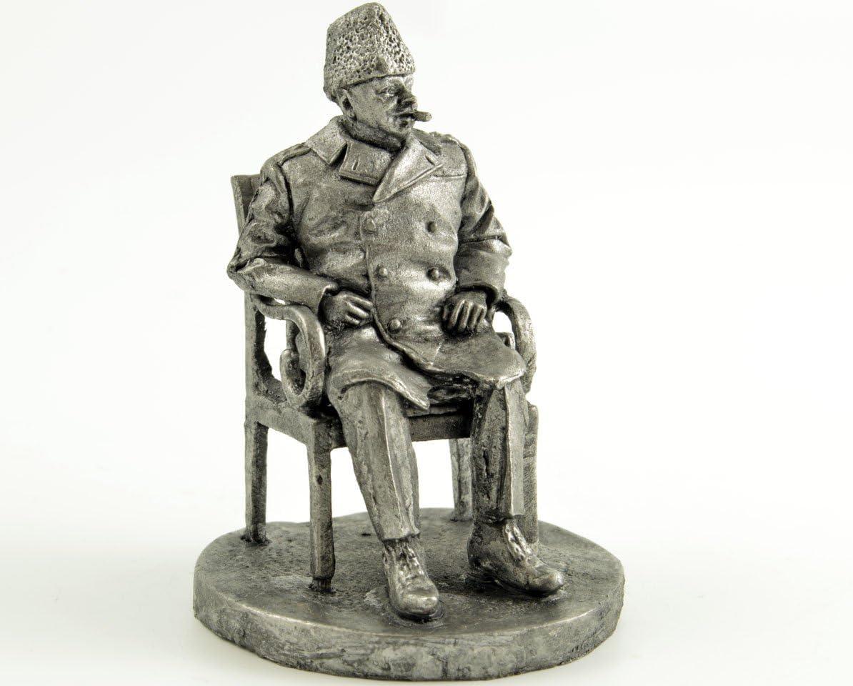 Miniature Toy Tin Soldier Napoleon 1//32 Tin Metal 54mm Painted