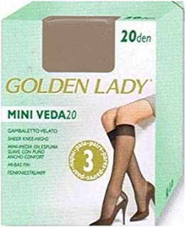 Golden Lady, MINI MEDIA ESPUMA PACK 3 mujer