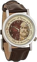 Leonardo da Vinci Backwards Unisex Analog Watch