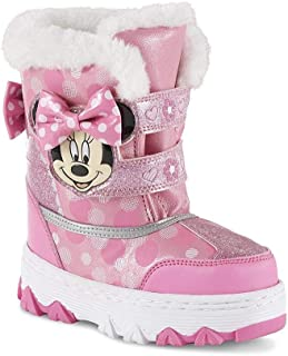 Toddler Girls' Minnie Mouse Pink Winter Boot