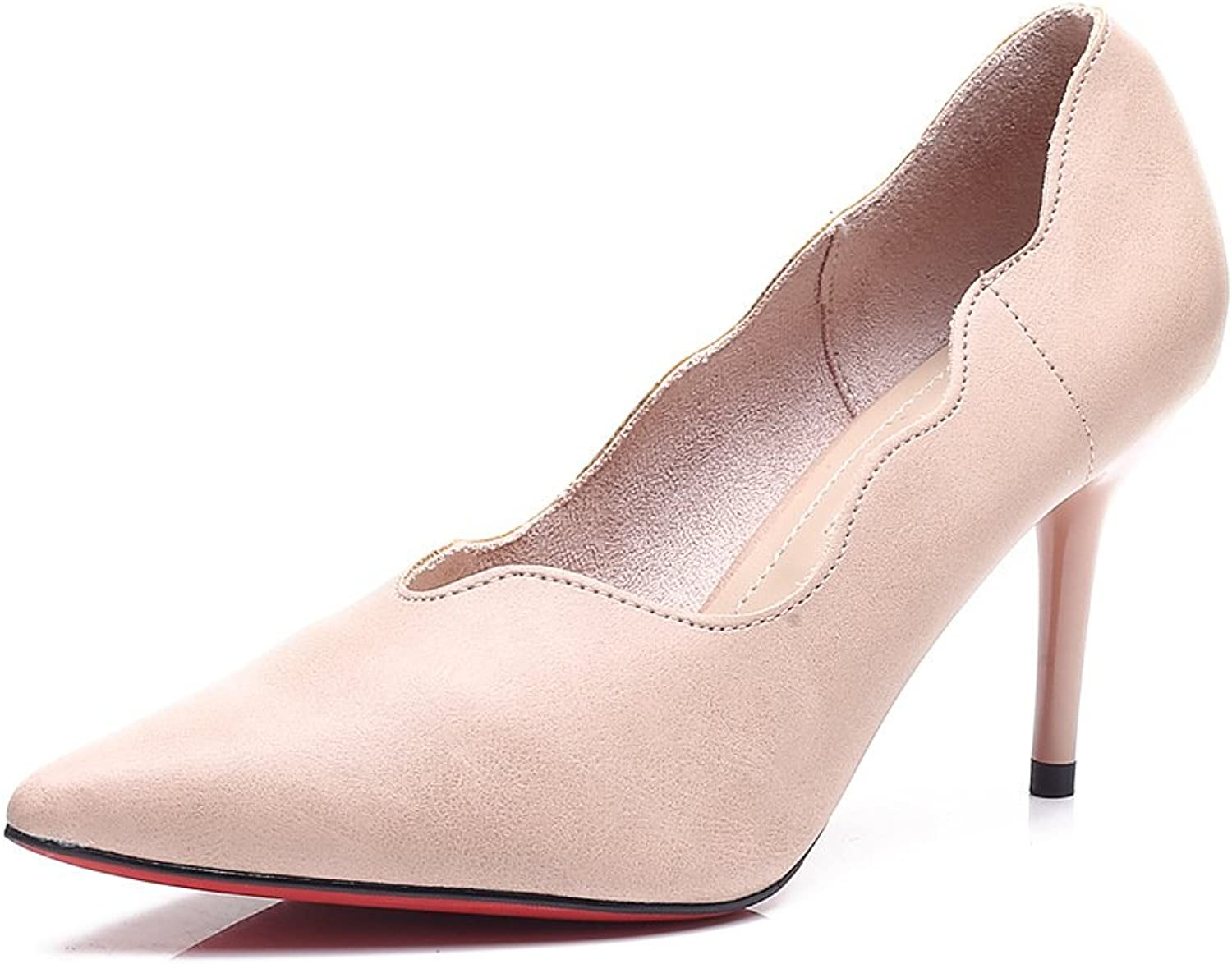 Meiren Pointed High Heels Super Female Stiletto Single shoes