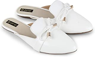 Glamgo Flat Mules - Synthetic Casual Sandals for Women
