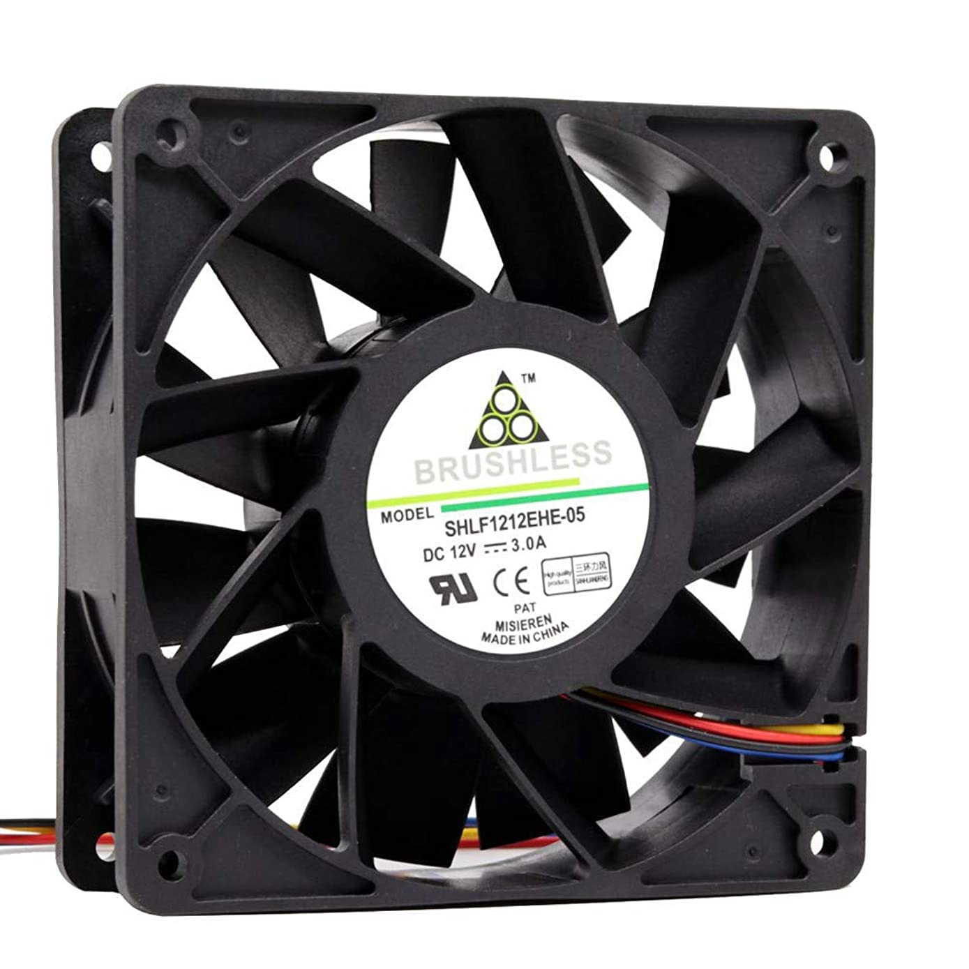 GOVOW-Tech 4500RPM Cooling Fan Replacement 4-pin Connector for Antminer Bitmain S7