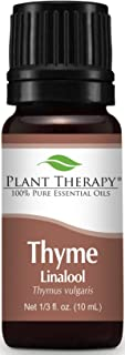 Sponsored Ad - Plant Therapy Thyme Linalool Essential Oil 10 mL (1/3 oz) 100% Pure, Undiluted, Therapeutic Grade
