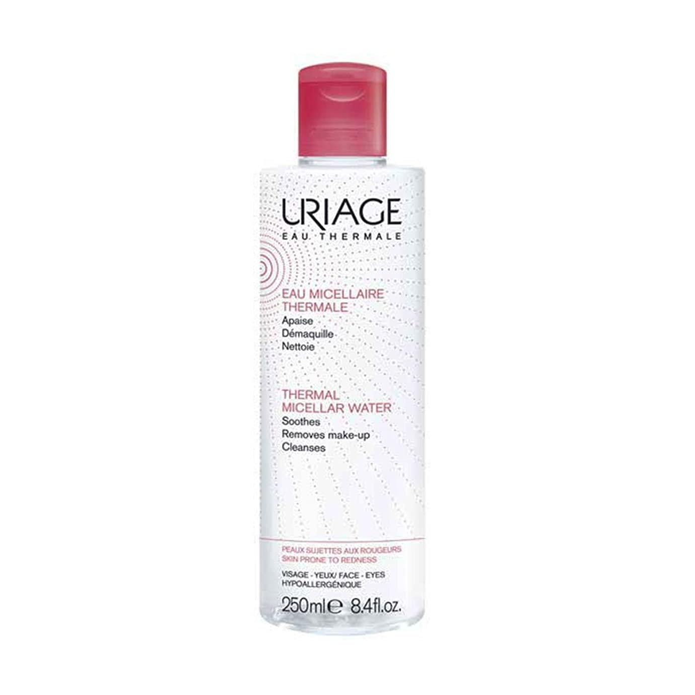 サイレントクリケット弱いUriage Thermal Micellar Water Skin Prone To Redness 250ml [並行輸入品]