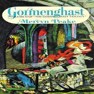 Gormenghast audiobook cover art