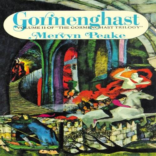 Gormenghast audiobook cover art