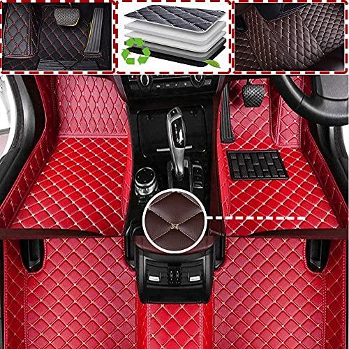 Alfombrilla De Coche Cuero Para Cadillac XT4 2018 2019 2020(RHD) Cobertura Completa para Todo Clima Delanteras Traseros Esteras Moqueta Impermeable Antideslizante Auto Accesorios