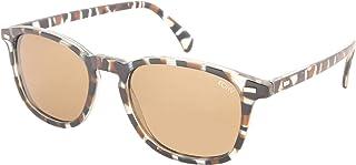 KOHV ''Bean'' Gloss Blue Tortoise/Polarized Brown Sunglasses - Quality Eyewear for Men & Women, Affordable Men's Sunglasses or Women's Sunglasses
