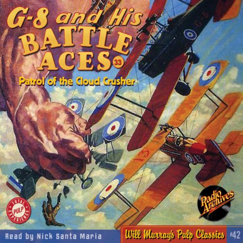 G-8 and His Battle Aces #33, June 1936 cover art