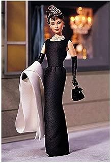 Dress Barbie doll in 1998 Audrey Hepburn ' Breakfast at Tiffany's ' black