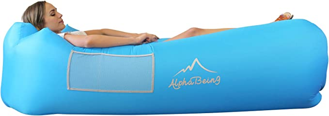 AlphaBeing Inflatable Lounger - Best For Outdoor Camping