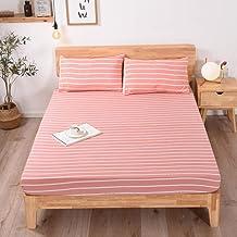 Supermjukt lakan,Enkelt enfärgat madrassskydd hem sovrumslakan-B_120 * 200 * 24cm,Mjukt lakan