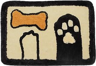 Gray Hall Children Room Transser Washable Absorb Water Mat Soft Anti Slip Cartoon Cat Carpet Girls Bedroom Door Mats Decor for Living Room Hallway