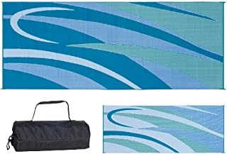 Ming's Mark GC3 Blue/Green 8-Feet x 20-Feet Graphic Mat