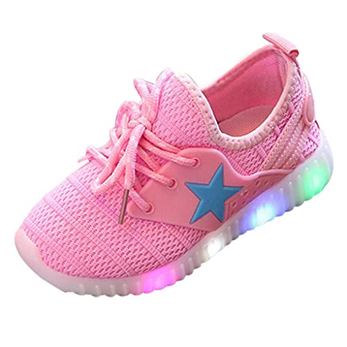Muium Children Light Shoes Toddler Infant Baby Boys Girls Star Luminous Sneakers  Boots for 5cb71d8ae45e