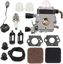 FS85 Carburetor for Stihl FS75 FS80 FS85 HS75 HS80 HS85 HL75 FH75 HT70 HT75 KM80 KM85 SP80 SP85 FC75 FC85 String Trimmer & 4137 124 2800 4137 124 1500 Air Pre Filter