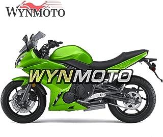 WYNMOTO ABS Plastic Pearl Green Motorcycle Fairing Kit For Ninja 650r ER-6F 2009 2010 2011 09 10 11 Sportbike Coat