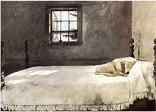 Spiffing Prints Andrew Wyeth - Master Bedroom - Extra Large - Matte - Unframed