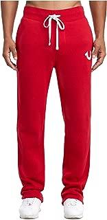 True Religion Men's Standard Logo BTM Basic Sweatpants