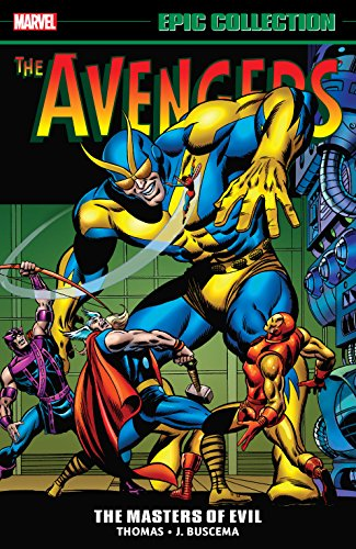 Avengers Epic Collection: Masters of Evil (Avengers (1963-1996)) (English Edition)