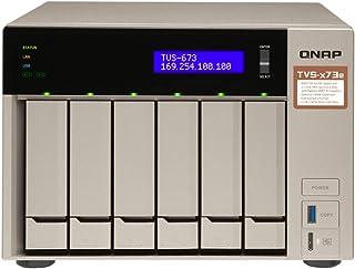 QNAP TVS-871-i7-16G-USTVS-673e-4G-US TVS-673e 6 Bay, 4GB, With HDMI, AMD