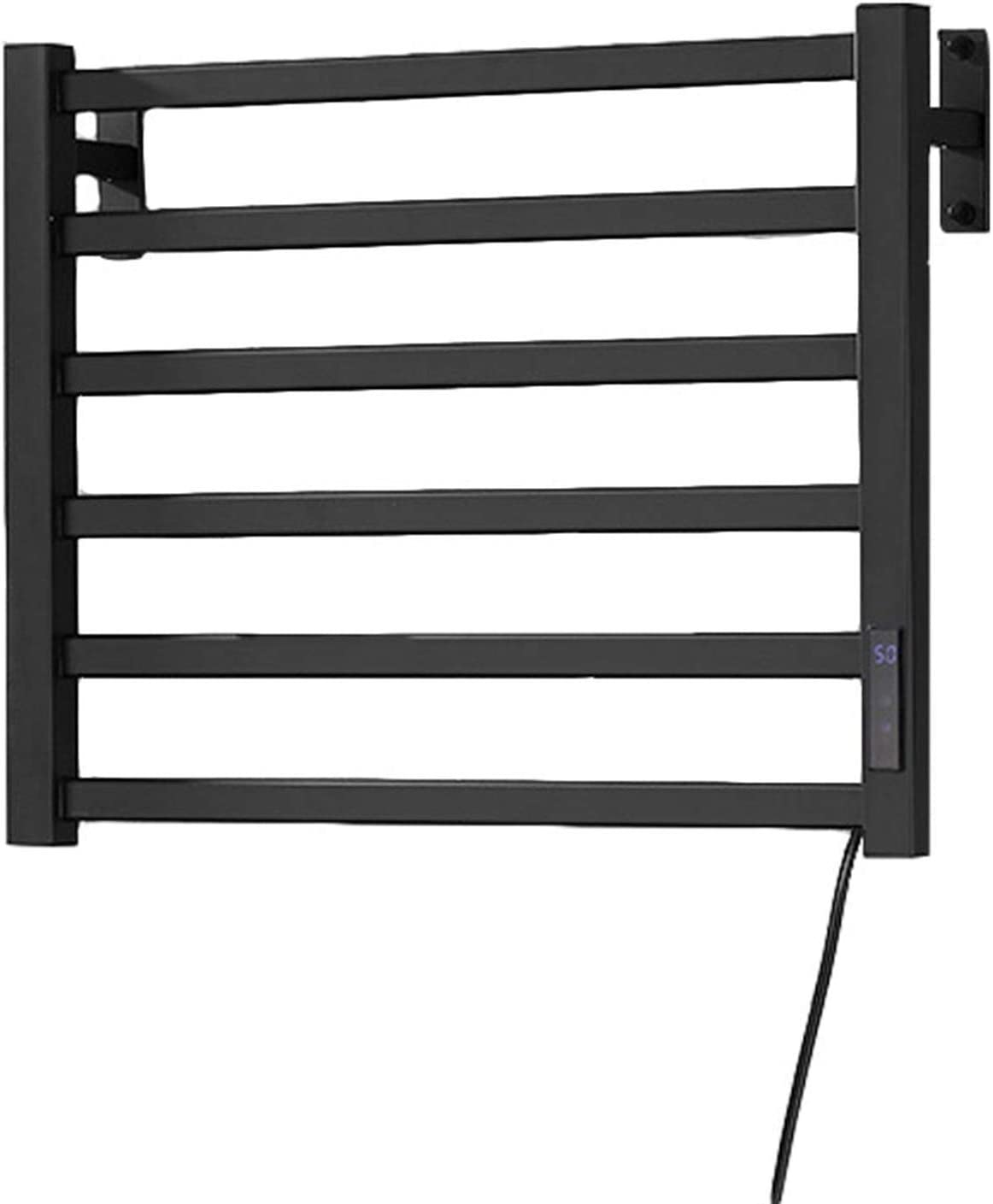 YUDIZWS Max 66% OFF Electric Towel Rack Dryer Thermostat 5% OFF Wall-Moun Built-in
