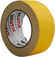 WELSTIK Dunne Gaff Tape 50MM*30.2M Gaffa Tape Matt Doek Tape, Geel