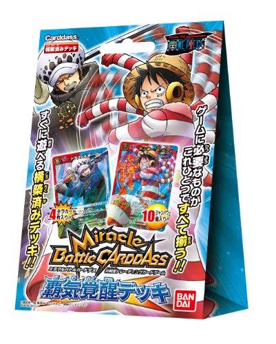 Miracle Battle Carddas One Piece pre-built deck \
