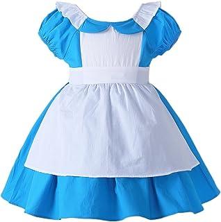 JiaDuo Little Girls Princess Dress Up Cotton Halloween Party Costumes