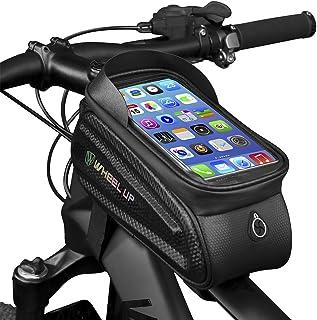 comprar comparacion GARDOM Bolsas de Bicicleta,Bolsas Manillar Impermeable Bolsa Táctil de Tubo Paquete de Ciclismo con Funda para Teléfono co...