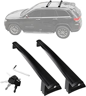 YITAMOTOR Cross Bars Roof Racks for 2011-2019 Jeep Grand Cherokee, Luggage Crossbars with Locks Anti-theft Update Racks for Cargo Carrier Bag Canoe Kayak Bike Rack