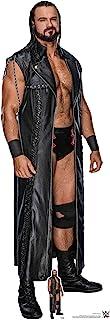 Star Cutouts Ltd- Drew McIntyre WWE - Tarjeta de tamaño real con mini Standee gratis para cumpleaños, regalos, fiestas y f...