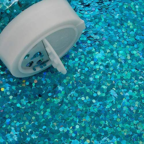 Madisyns 3 Opening large release sale oz Lake Blue Grain Max 70% OFF Holographic Glitter Large