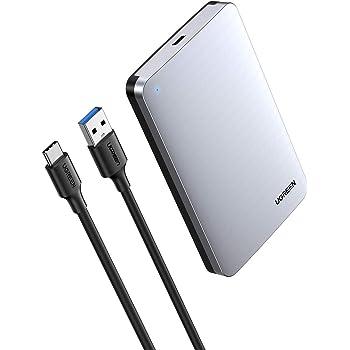 Silber /& Basics Gen2, 10 Gbit//s USB-C 3.1 vollst/ändig aus Aluminium ICY BOX Externes 2,5 Zoll Geh/äuse f/ür Festplatten und SSD 0,9 m,Wei/ß Generation USB C Kabel auf USB Typ A,USB 3.1 2