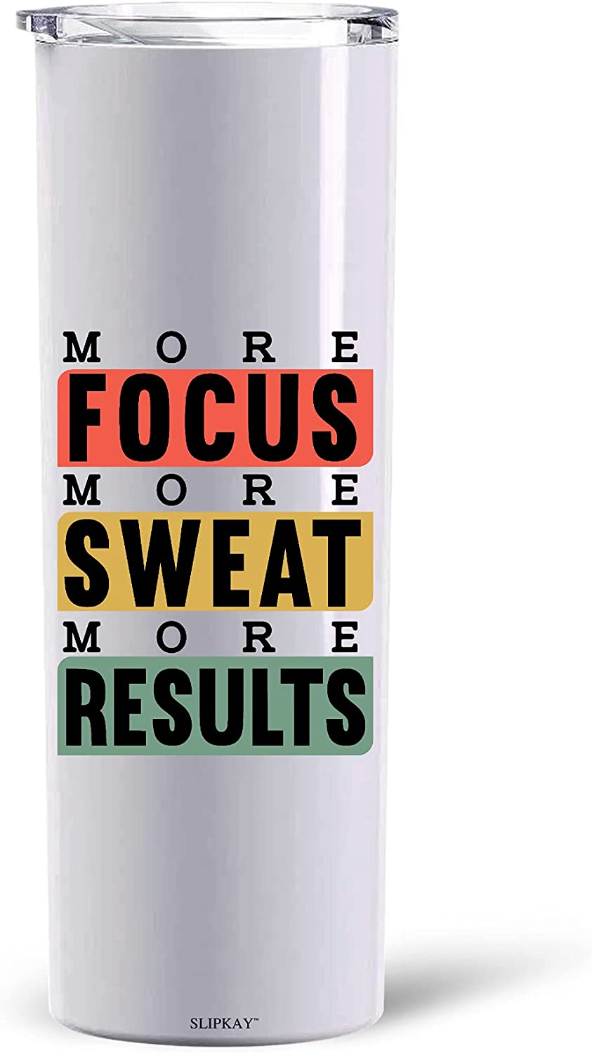More Focus Sweat Results Tumbler SS 20oz Brand Ranking TOP1 new