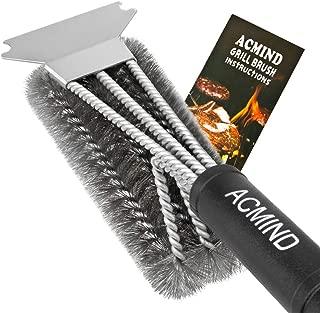 Acmind Grill Brush and Scraper, 18