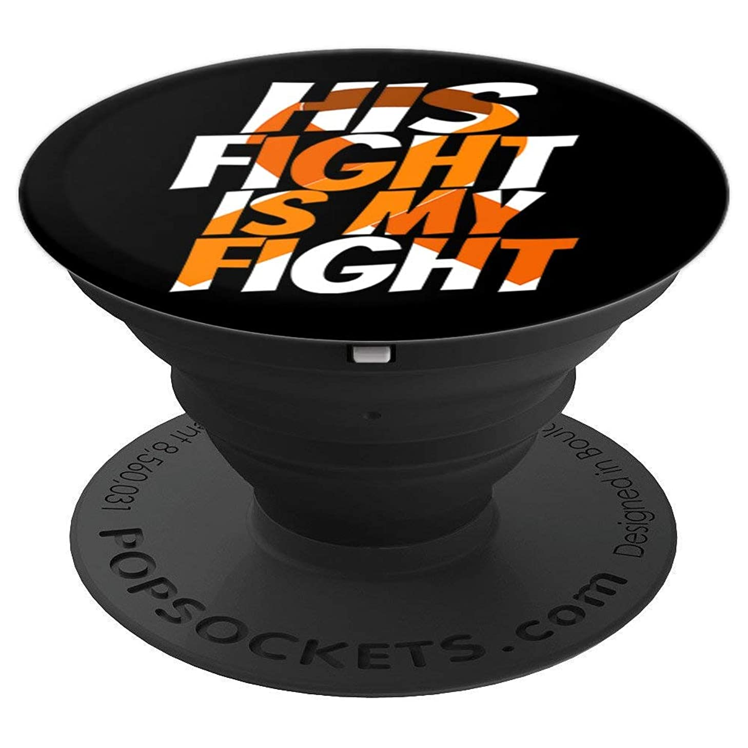 Kidney Cancer Awareness Products Orange Ribbon Products - PopSockets Grip and Stand for Phones and Tablets