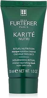 Rene Furterer KARITE NUTRI Intense Nourishing Mask, Very Dry Damaged Hair, Shea Oil, Shea Butter