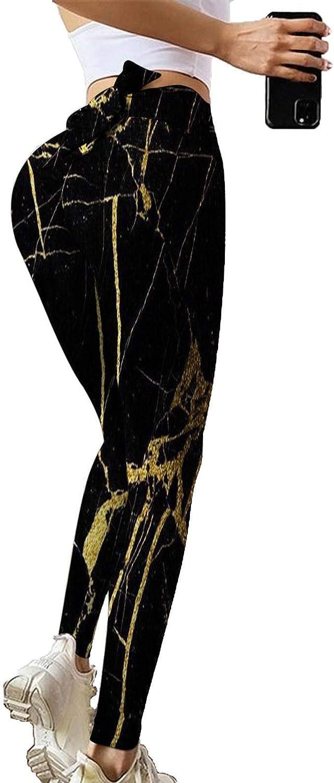 Yoga Pants for Women Print Bow-Knot High Waist Butt Lift Leggings Tummy Control Workout Tights Famous TIK Tok Leggings