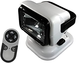 GoLight RadioRay Portable Searchlight with Magnetic Shoe, White