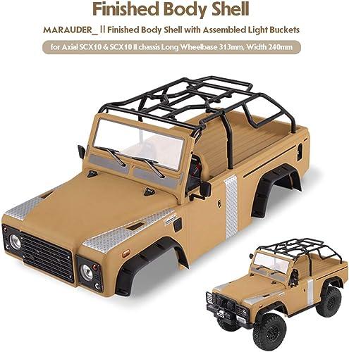 Leslaur Killerbody Marauder_Ⅱ RC Kit voiturerosserie voiturerosserie pour chenilles pour empatteHommest de 313mm axial SCX10 SCX10Ⅱ chassis 1 10