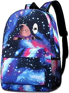 Majin Buu OK Shoulder Bag Fashion School Star Printed Bag